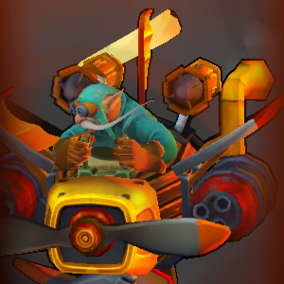 Gyrocopter icon
